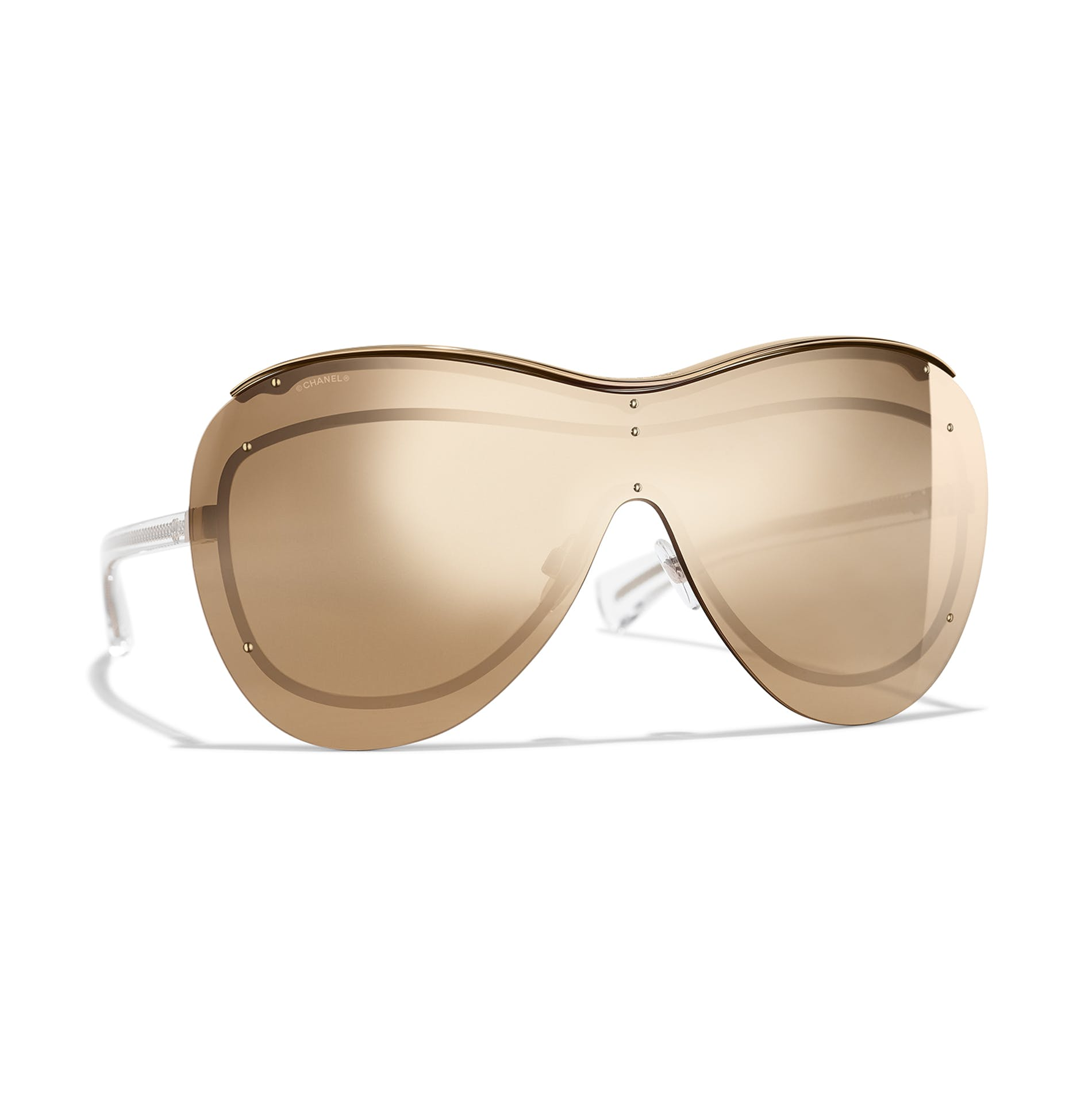 a3eaae70659 MANIFESTO - RETRO SHIELDS  Chanel s Summer Shield Sunglasses