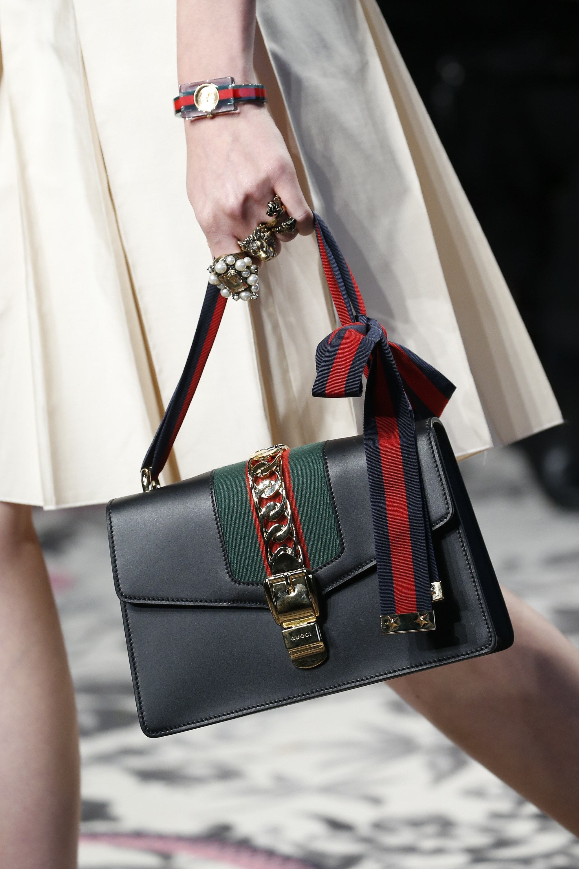 0ff237daee67 Gucci Gets Detailed For Its Spring 2016 Runway Bags Purseblog ...