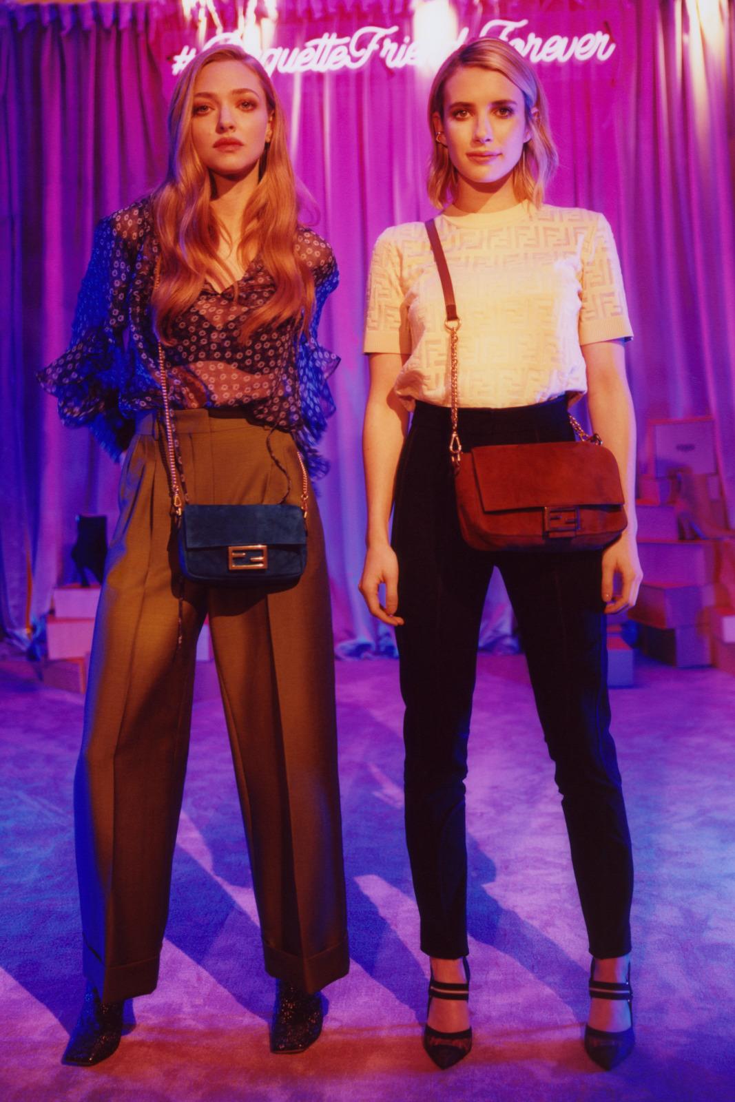 MANIFESTO - BESTIES LIKE THESE: Amanda Seyfried and Emma Roberts